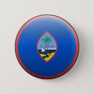 Flag of Guam 2 Inch Round Button