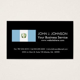 Flag of Guatamala Business Card