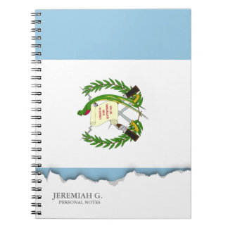 Flag of Guatamala Spiral Note Book