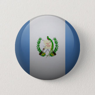 Flag of Guatemala 2 Inch Round Button