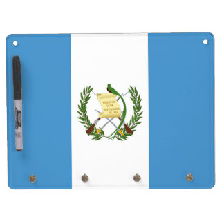 Flag of Guatemala - Central American Dry Erase Whiteboard