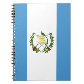 Flag of Guatemala - Central American Spiral Notebook