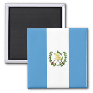 Flag of Guatemala - Central American Square Magnet