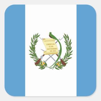 Flag of Guatemala - Central American Square Sticker