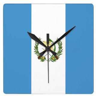 Flag of Guatemala - Central American Wallclock