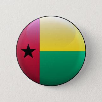 Flag of Guinea-Bissau 2 Inch Round Button