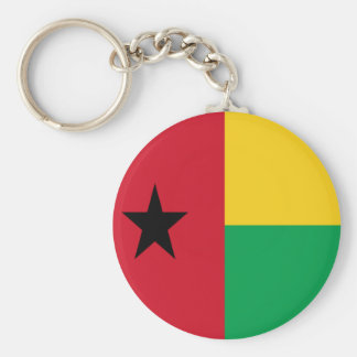 Flag of Guinea-Bissau Keychain