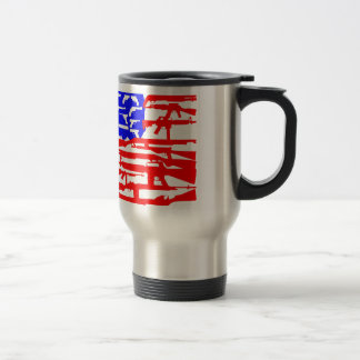 Flag Of Guns 2nd Amendment Travel Mug