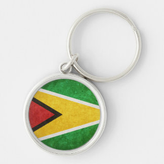 Flag of Guyana Keychain