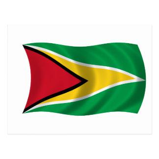 Flag of Guyana Postcard