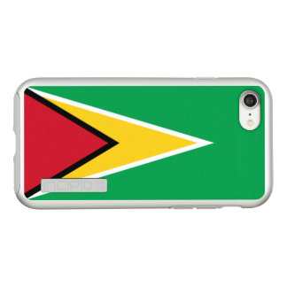 Flag of Guyana Silver iPhone Case