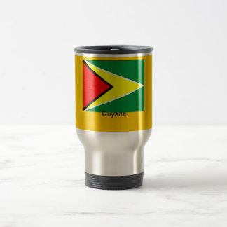 Flag of Guyana Travel Mug