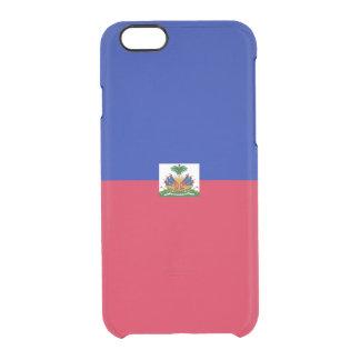 Flag of Haiti Clear iPhone Case