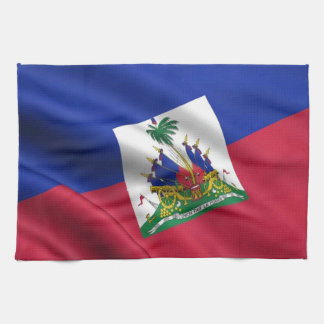 FLAG OF HAITI KITCHEN TOWEL