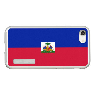 Flag of Haiti Silver iPhone Case