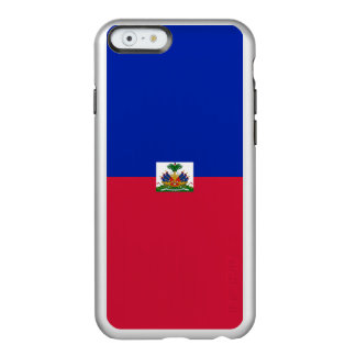 Flag of Haiti Silver iPhone Case Incipio Feather® Shine iPhone 6 Case