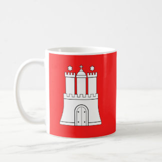 Flag of Hamburg Coffee Mug