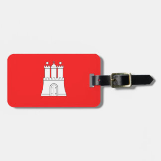 Flag of Hamburg Luggage Tag