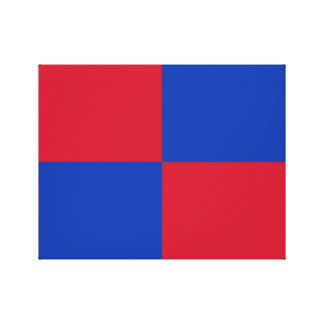 Flag of Harenkarspel Canvas Print