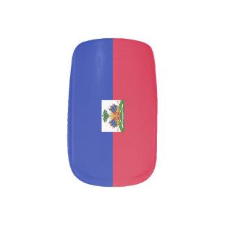 Flag of Hati Minx Nail Art