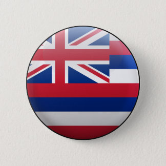 Flag of Hawaii 2 Inch Round Button