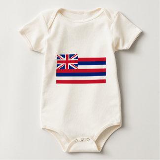 Flag Of Hawaii Baby Bodysuit