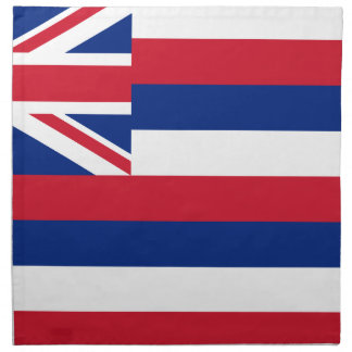 Flag Of Hawaii Napkin