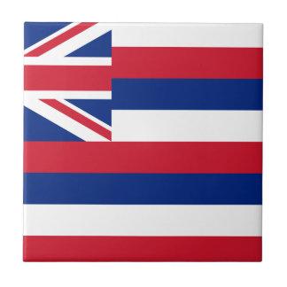 Flag Of Hawaii Tile