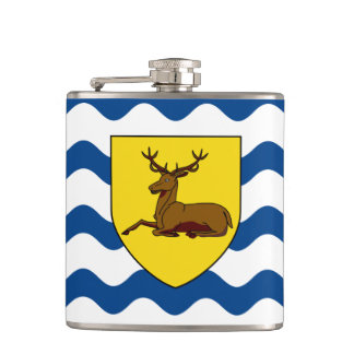 Flag of Hertfordshire Hip Flask