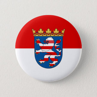 Flag of Hesse 2 Inch Round Button