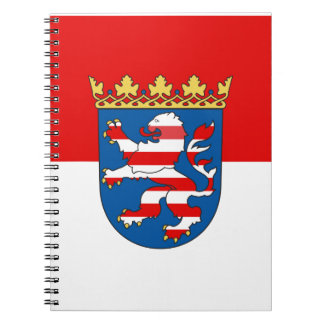 Flag of Hesse Notebook