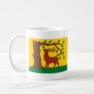 Flag of historic county of Berkshire Coffee Mug