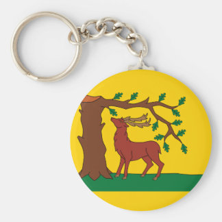 Flag of historic county of Berkshire Keychain
