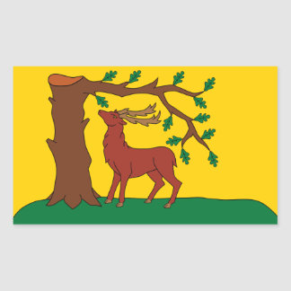 Flag of historic county of Berkshire Sticker