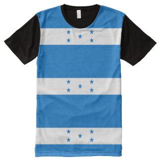 Flag of Honduras - Bandera Hondureña de Honduras All-Over-Print T-Shirt