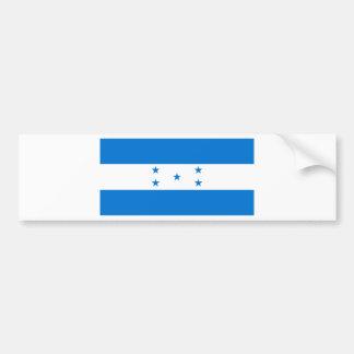Flag of Honduras - Bandera Hondureña de Honduras Bumper Sticker