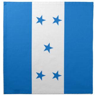 Flag of Honduras - Bandera Hondureña de Honduras Napkin