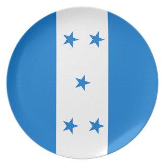 Flag of Honduras - Bandera Hondureña de Honduras Plate