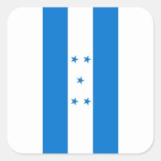 Flag of Honduras - Bandera Hondureña de Honduras Square Sticker