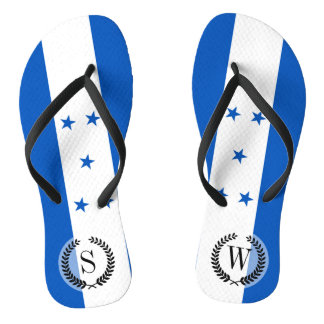 Flag of Honduras Flip Flops