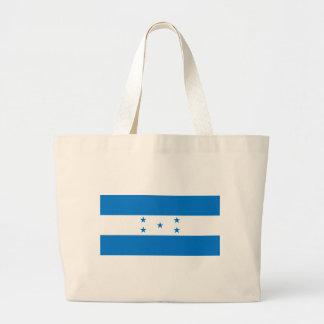 Flag_of_Honduras Large Tote Bag
