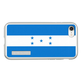 Flag of Honduras Silver iPhone Case