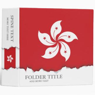 Flag of Hong Kong Binder