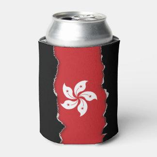 Flag of Hong Kong Can Cooler