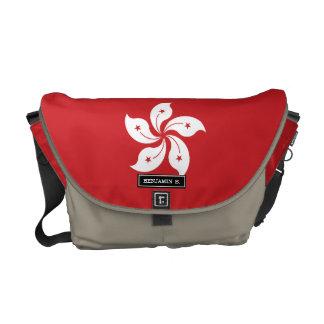 Flag of Hong Kong Commuter Bag
