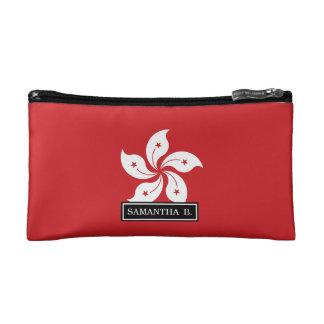 Flag of Hong Kong Cosmetic Bag