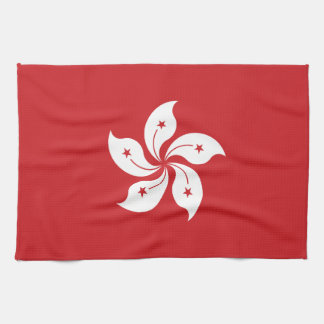 Flag of Hong Kong Kitchen Towel