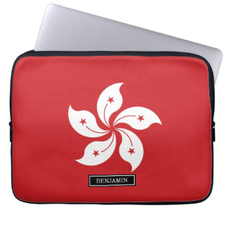 Flag of Hong Kong Laptop Sleeve