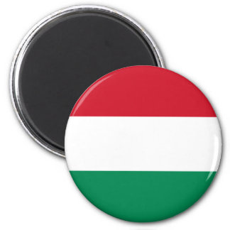 Flag of Hungary 2 Inch Round Magnet