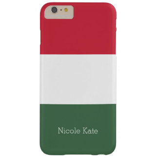 Flag of Hungary Barely There iPhone 6 Plus Case